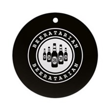 Beeratarian Ornament (Round)