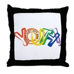 SunServe Youth logo Throw Pillow