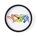 SunServe Youth logo Wall Clock