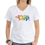 SunServe Youth logo Women's V-Neck T-Shirt