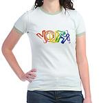 SunServe Youth logo Jr. Ringer T-Shirt