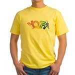 SunServe Youth logo Yellow T-Shirt