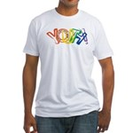 SunServe Youth logo Fitted T-Shirt