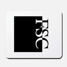 FSC Typography Mousepad