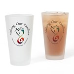 Valuing Our Families Drinking Glass