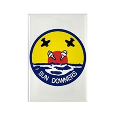 VFA 111 Sun Downers Rectangle Magnet