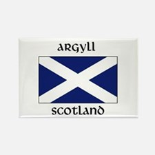 Cute Argyll Rectangle Magnet
