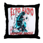 Ectozilla Throw Pillow