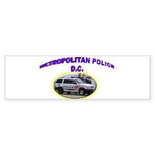 Washington D C Polic Bumper Sticker