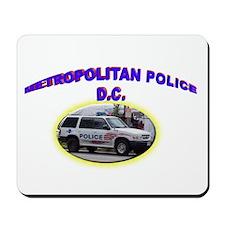 Washington D C Polic Mousepad