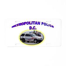 Washington D C Polic Aluminum License Plate