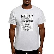 Paranoids! Ash Grey T-Shirt