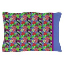 Autumn Leaves Surreal Pillow Case with Border