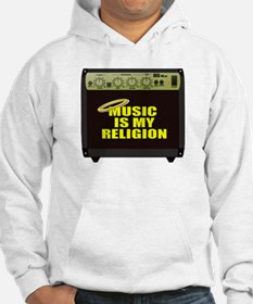 Music is my religion Hoodie