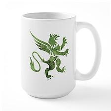 Green Gryphon Mug