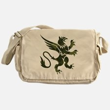 Argyle Gryphon Messenger Bag