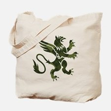Argyle Gryphon Tote Bag