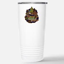 Decorated Christmas Coo Travel Mug