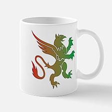 Red Green Gryphon Mug