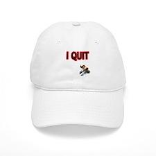 I Quit Smoking Baseball Cap