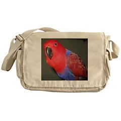 Eclectus/Nancy Messenger Bag