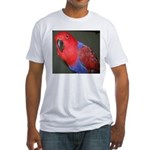 Eclectus/Nancy Fitted T-Shirt