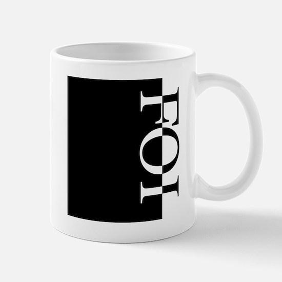 FOI Typography Mug