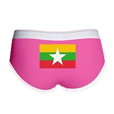 Flag of Burma Women's Boy Brief