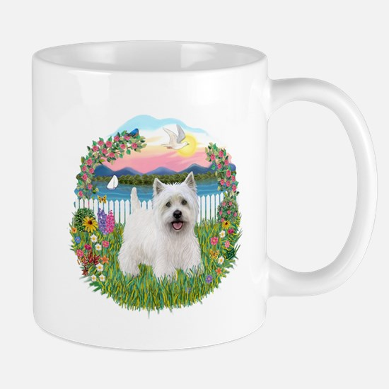 Garden-Shore-Westie#5 Mug