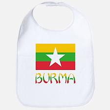 Burma Flag & Word Bib