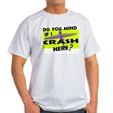 Crash Here Drummer Cymbal T-Shirt