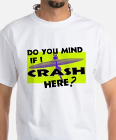 Crash Here Drummer Cymbal Shirt