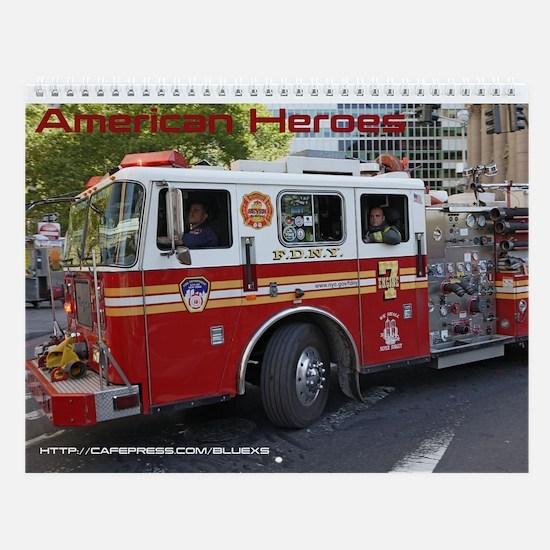 American Heroes Wall Calendar