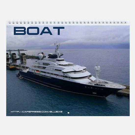 Boat Wall Calendar