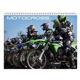 Dirt biking Wall Calendars