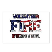 Volunteer Fire Fighter Postcards (Package of 8)