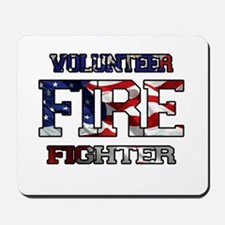 Volunteer Fire Fighter Mousepad
