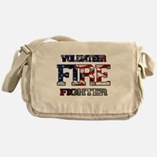 Volunteer Fire Fighter Messenger Bag