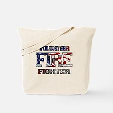 Volunteer Fire Fighter Tote Bag