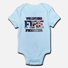 Volunteer Fire Fighter Infant Bodysuit
