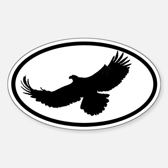 Eagle Oval Decal