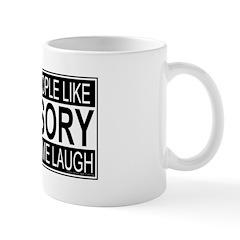 Stupid People Advisory Mug