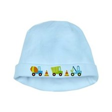 Construction Trucks Baby Beanie Hat