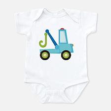 Tow Truck Construction Infant Bodysuit