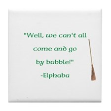 Elphaba Quote Tile Coaster