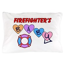 Firefighter's Baby Pillow Case
