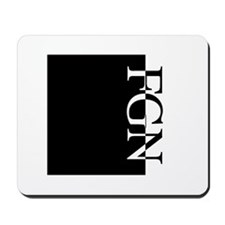 FGN Typography Mousepad