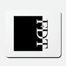 FDT Typography Mousepad
