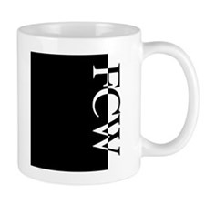 FCW Typography Mug