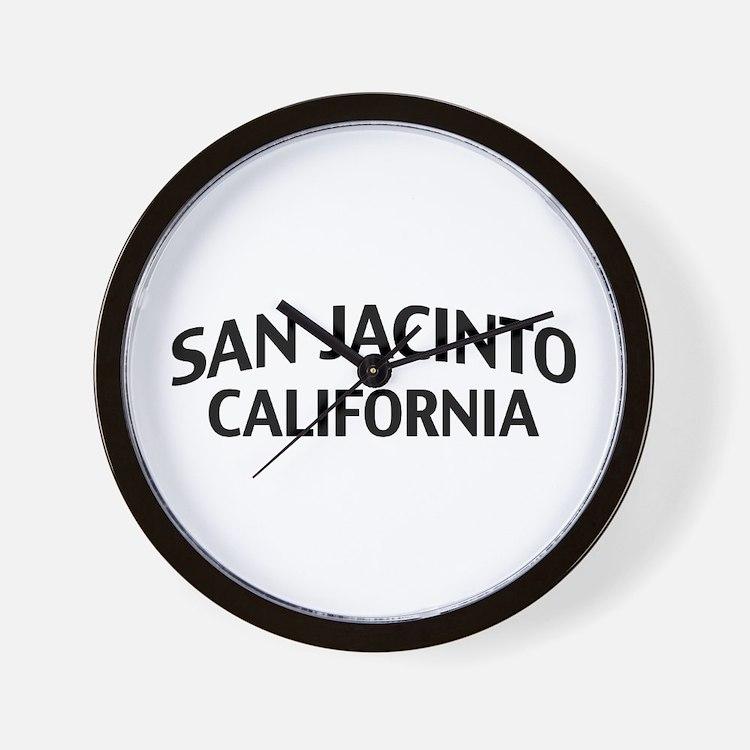 San Jacinto California Wall Clock